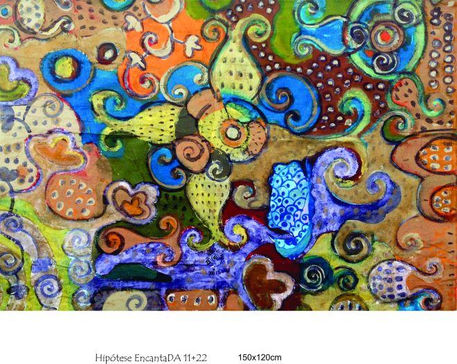 Hipótese Encantada 1 – Efêmeras (2004) – Ddaniela Aguilar | Bolhas de acrílico