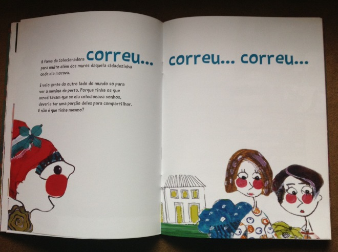 A colecionadora de Sonhos | Escrito por: Claudia Lins | Ilustração de Ddaniela Aguilar