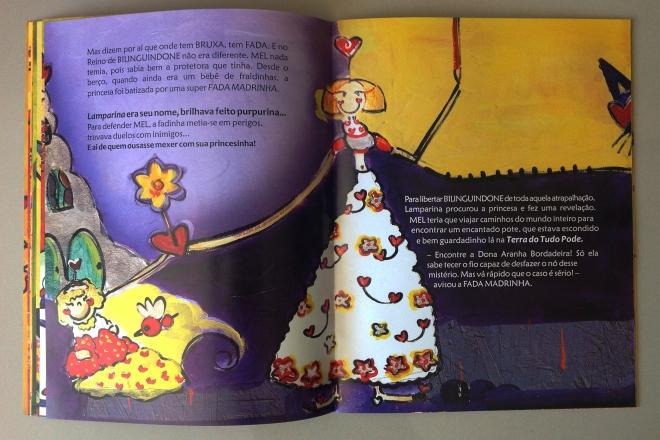 10.2010 - NO REINO DE BILINGUINDONE - texto-Claudia Lins e ilustração Ddaniela Aguilar