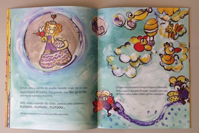 11.2010 - NO REINO DE BILINGUINDONE - texto-Claudia Lins e ilustração Ddaniela Aguilar