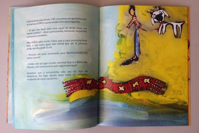 13.2010 - NO REINO DE BILINGUINDONE - texto-Claudia Lins e ilustração Ddaniela Aguilar