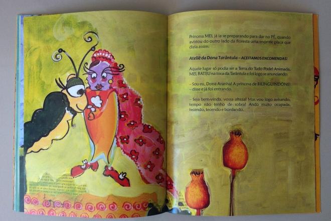15.2010 - NO REINO DE BILINGUINDONE - texto-Claudia Lins e ilustração Ddaniela Aguilar