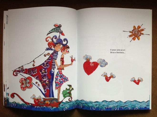 17. 2017 VENTANIA E O MAPA DO TESOURO -texto Simone Cavalcante Ilustração Ddaniela Aguilar 2a.edição
