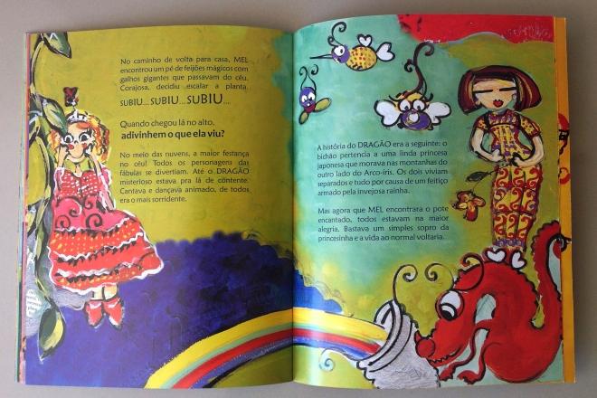 18.2010 - NO REINO DE BILINGUINDONE - texto-Claudia Lins e ilustração Ddaniela Aguilar
