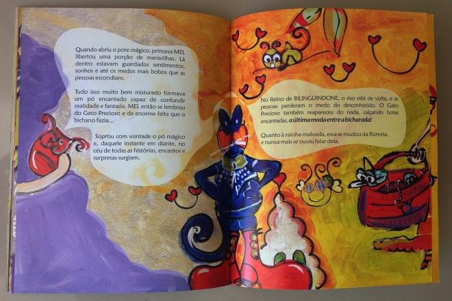 19.2010 - NO REINO DE BILINGUINDONE - texto-Claudia Lins e ilustração Ddaniela Aguilar