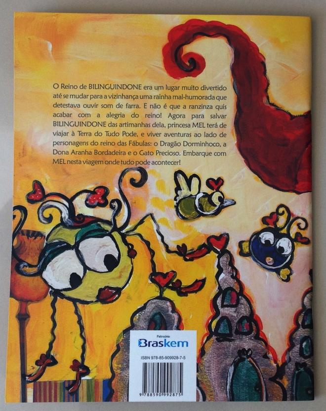 20.2010 - NO REINO DE BILINGUINDONE - texto-Claudia Lins e ilustração Ddaniela Aguilar