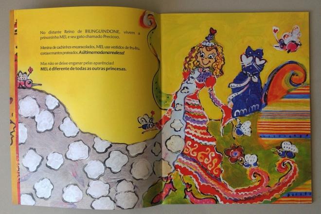 4.2010 - NO REINO DE BILINGUINDONE - texto-Claudia Lins e ilustração Ddaniela Aguilar