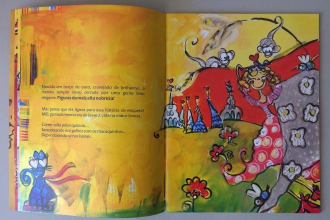 5.2010 - NO REINO DE BILINGUINDONE - texto-Claudia Lins e ilustração Ddaniela Aguilar