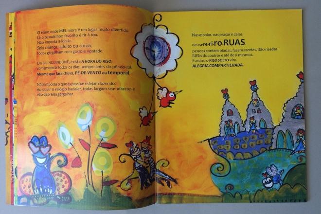 6.2010 - NO REINO DE BILINGUINDONE - texto-Claudia Lins e ilustração Ddaniela Aguilar