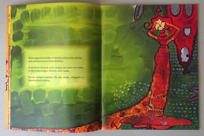 7.2010 - NO REINO DE BILINGUINDONE - texto-Claudia Lins e ilustração Ddaniela Aguilar