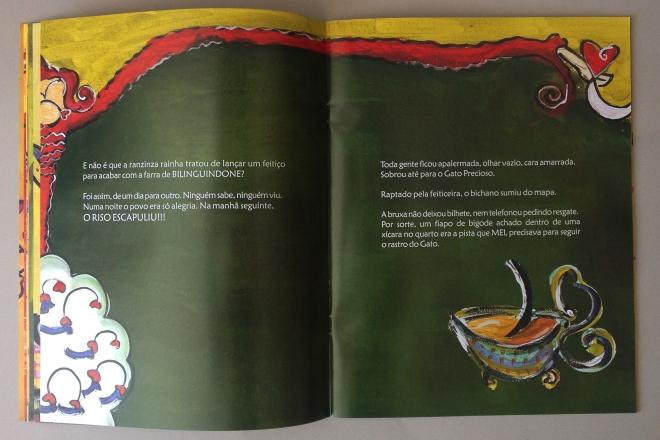 9.2010 - NO REINO DE BILINGUINDONE - texto-Claudia Lins e ilustração Ddaniela Aguilar