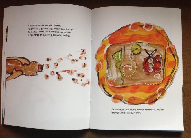 Ventania e o Mapa do Tesouro | Texto de: Simone Cavalcante | Ilustração de: Ddaniela Aguilar | 2a.edição