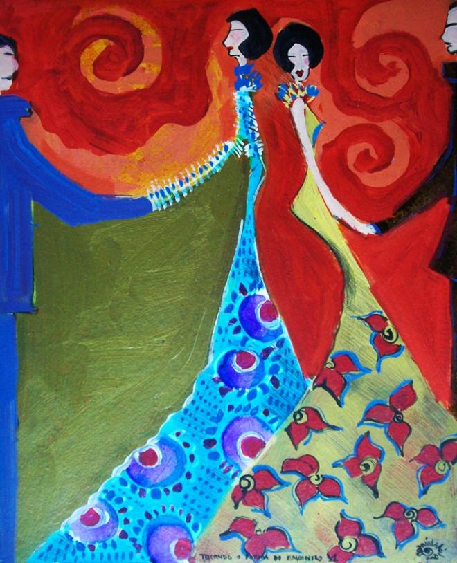 Série O Baile Nº 11.Tecendo o poema do encontro | Ddaniella Aguilar | 2010