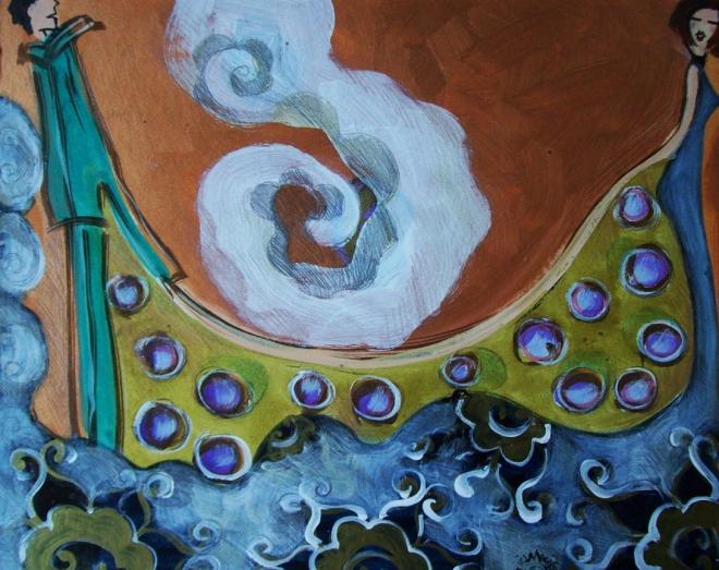Série O Baile Nº 12.Tecendo o poema do encontro | Ddaniella Aguilar | 2010