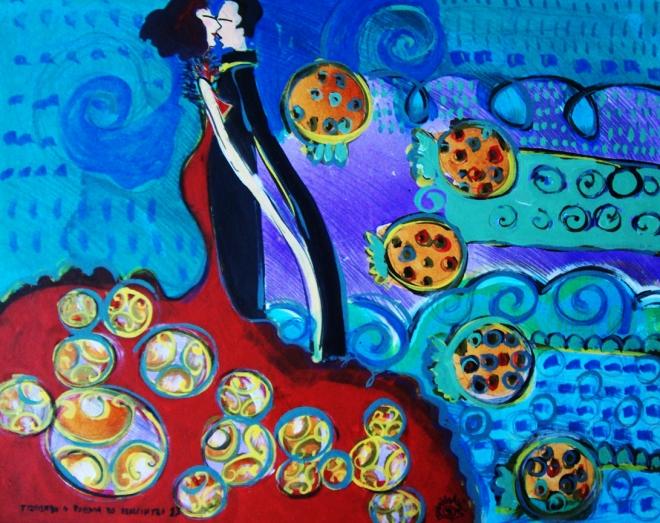 Série O Baile Nº 13.Tecendo o poema do encontro | Ddaniella Aguilar | 2010