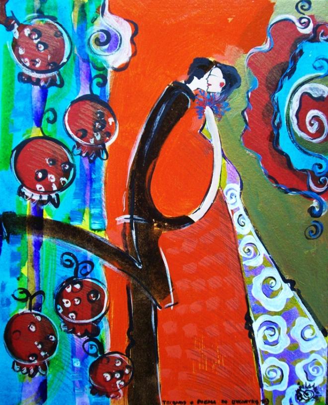 Série O Baile Nº 19.Tecendo o poema do encontro | Ddaniella Aguilar | 2010