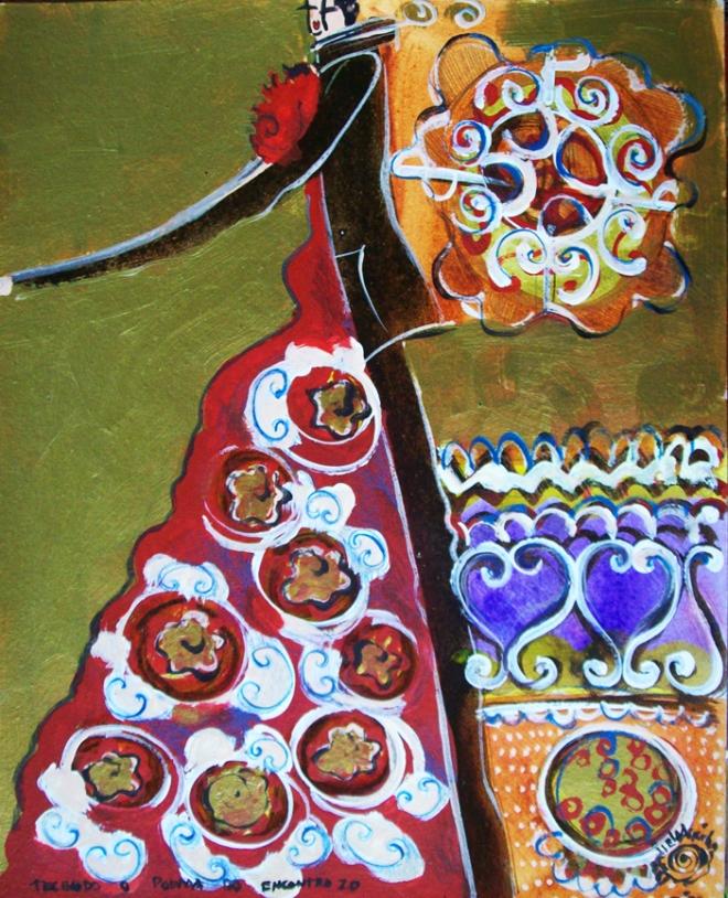 Série O Baile Nº 20.Tecendo o poema do encontro | Ddaniella Aguilar | 2010