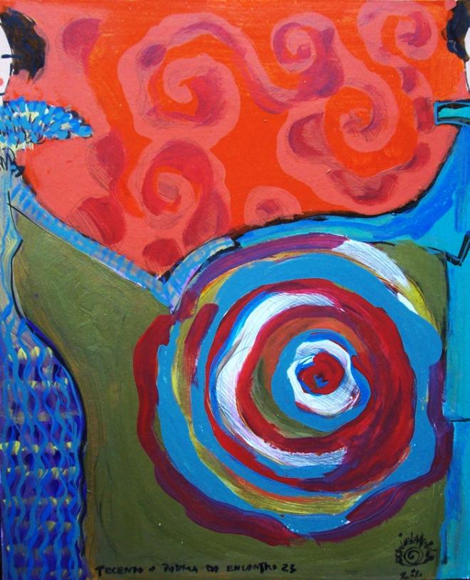 Série O Baile Nº 23.Tecendo o poema do encontro | Ddaniella Aguilar | 2010