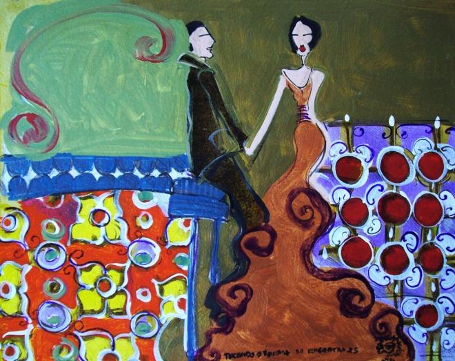 Série O Baile Nº 25.Tecendo o poema do encontro | Ddaniella Aguilar | 2010