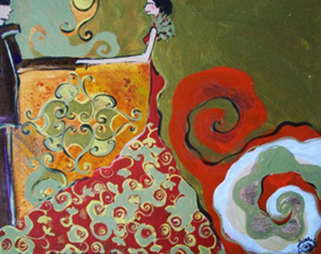 Série O Baile Nº 28.Tecendo o poema do encontro | Ddaniella Aguilar | 2010