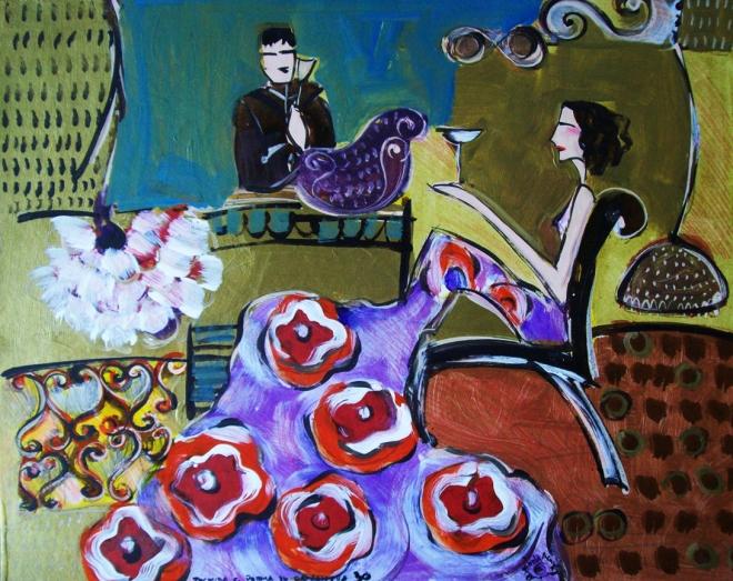 Série O Baile Nº 30.Tecendo o poema do encontro | Ddaniella Aguilar | 2010