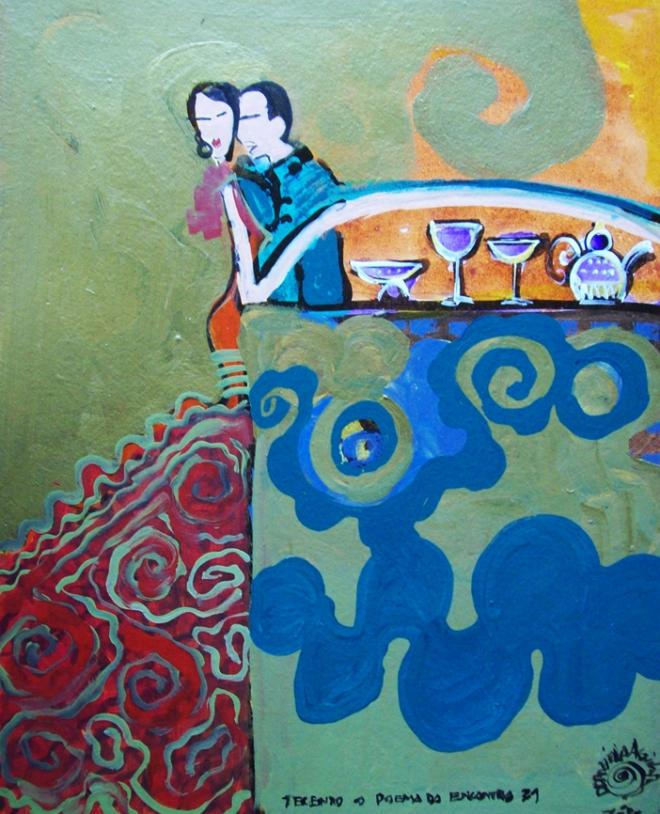 Série O Baile Nº 31.Tecendo o poema do encontro | Ddaniella Aguilar | 2010