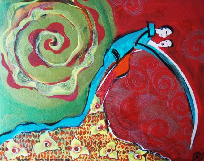 Série O Baile Nº 06.Tecendo o poema do encontro | Ddaniella Aguilar | 2010