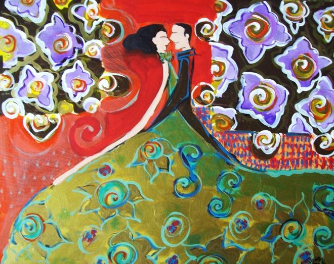 Série O Baile Nº 08.Tecendo o poema do encontro | Ddaniella Aguilar | 2010