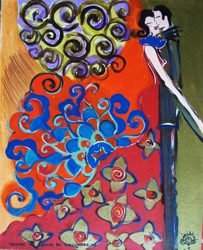 Série O Baile Nº 09.Tecendo o poema do encontro | Ddaniella Aguilar | 2010