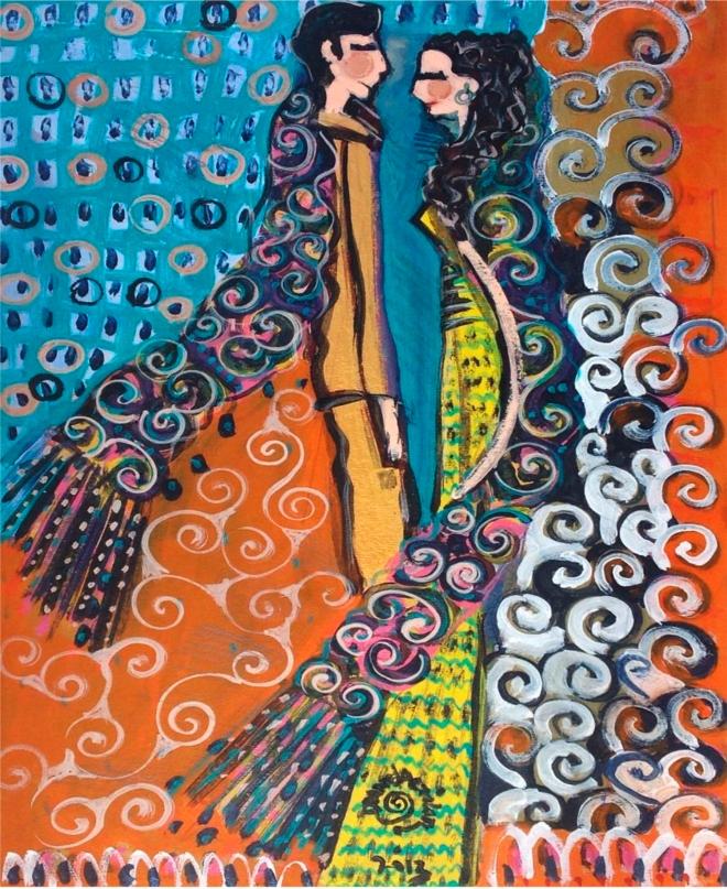 Série O Baile Nº 41.Tecendo o poema do encontro | Ddaniella Aguilar | 2015