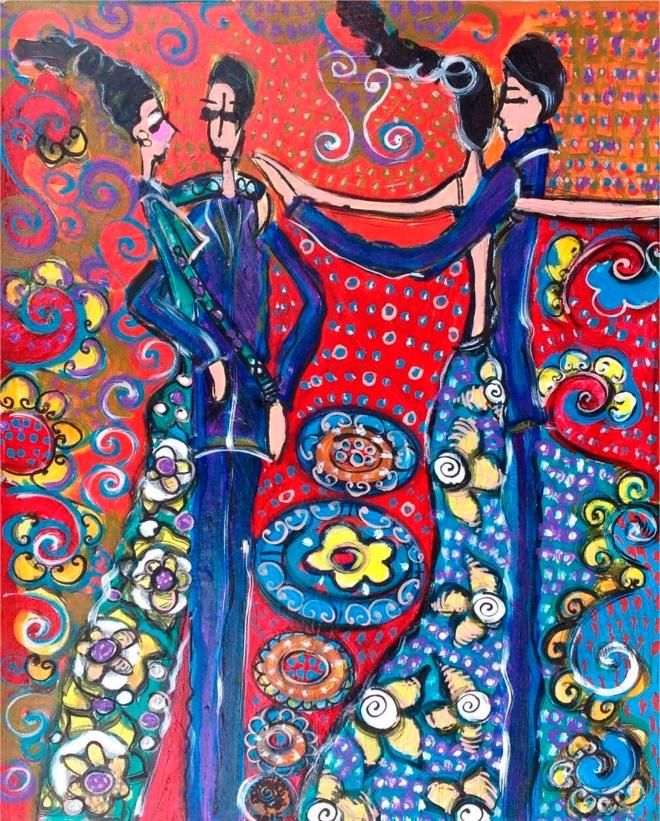Série O Baile Nº 62.Tecendo o poema do encontro | Ddaniella Aguilar | 2015