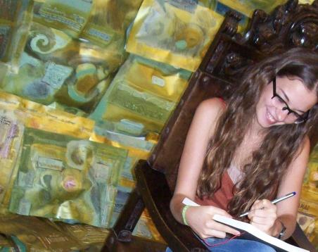 Exposição – Série TRAVESSEIROS – CÍRCULO DE MENINAS – Ddaniela Aguilar