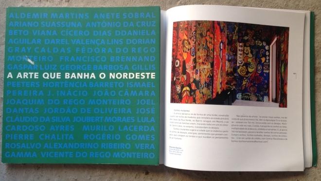 """Livro """"Arte que banha o Nordeste"""" - São Paulo – SP"""