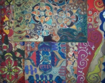 Sonhos Mutantes - Tenda Agrupamento de telas | Ddaniela Aguilar
