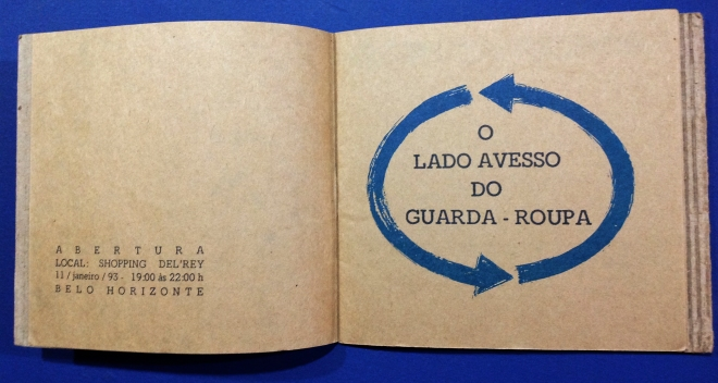 O Lado Avesso do Guarda Roupa - Coletivo Grupo Wearable - MG (1993)