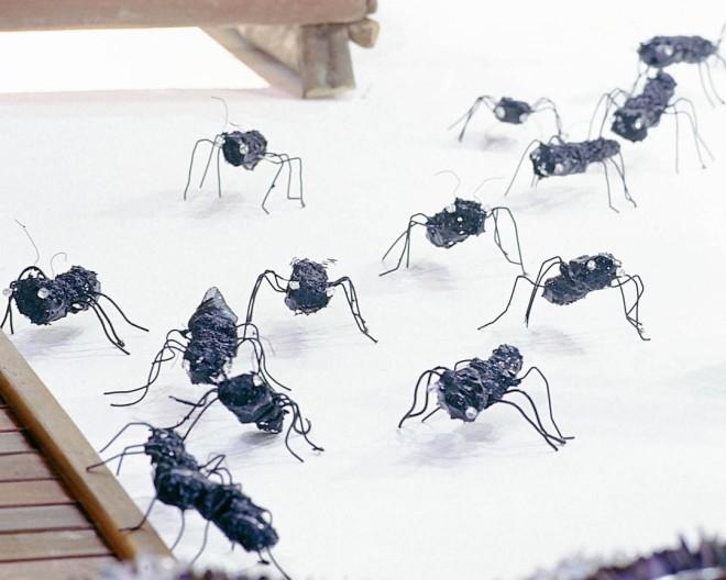 Formigas Mutantes ( 2001) - Reutilização plásticos pós-consumo | Ddaniela Aguilar | Fotos Manoel Leite