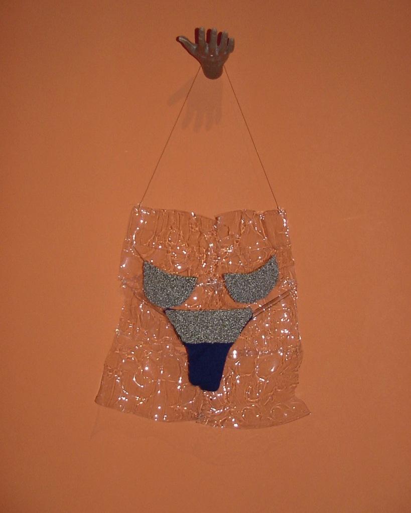 Da série CARDÁPIO (1997) - tricot e Pet pós-consumo | Ddaniela Aguilar