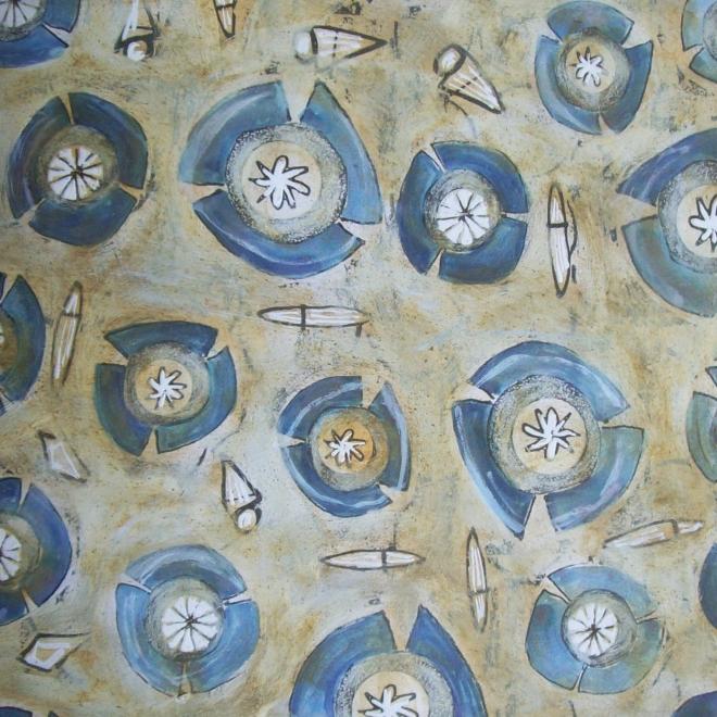 TREM AZUL - Ddaniela Aguilar (1997)
