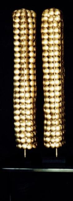 Serie COLMEIA (2002) - alumínio pós-consumo | Ddaniela Aguilar | Fotos J.R.Durval