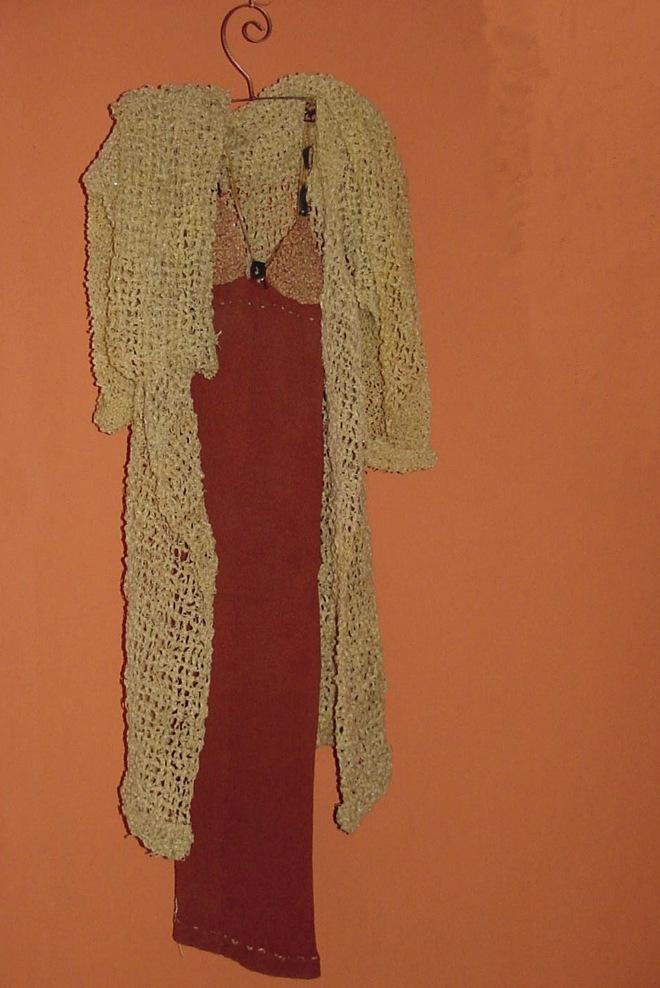 Da série OURIÇO (1997) - nylon pós-consumo | Ddaniela Aguilar