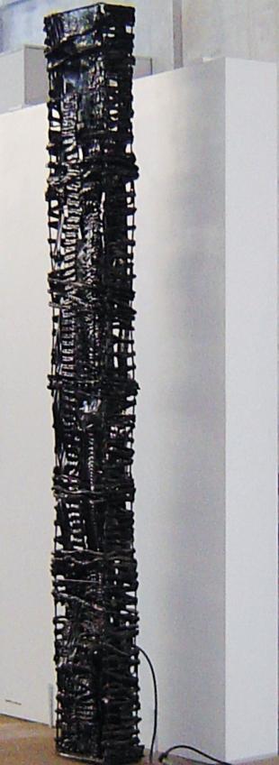 SÉRIE COLMEIA V (2005) - PVC refugos | Ddaniela Aguilar