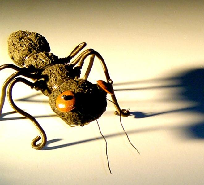 Formigas Mutantes ( 2003) - Reutilização plásticos pós-consumo | Ddaniela Aguilar | Fotos Manoel Leite