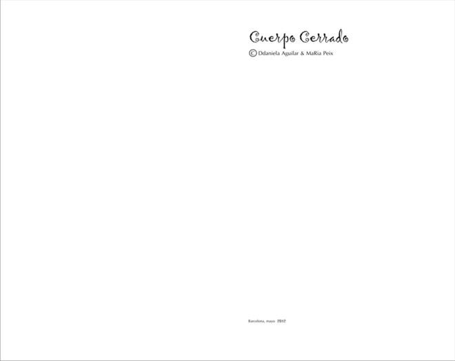 Livro Cuerpo Cerrado - Sonhos Mutantes - Ddaniela Aguilar