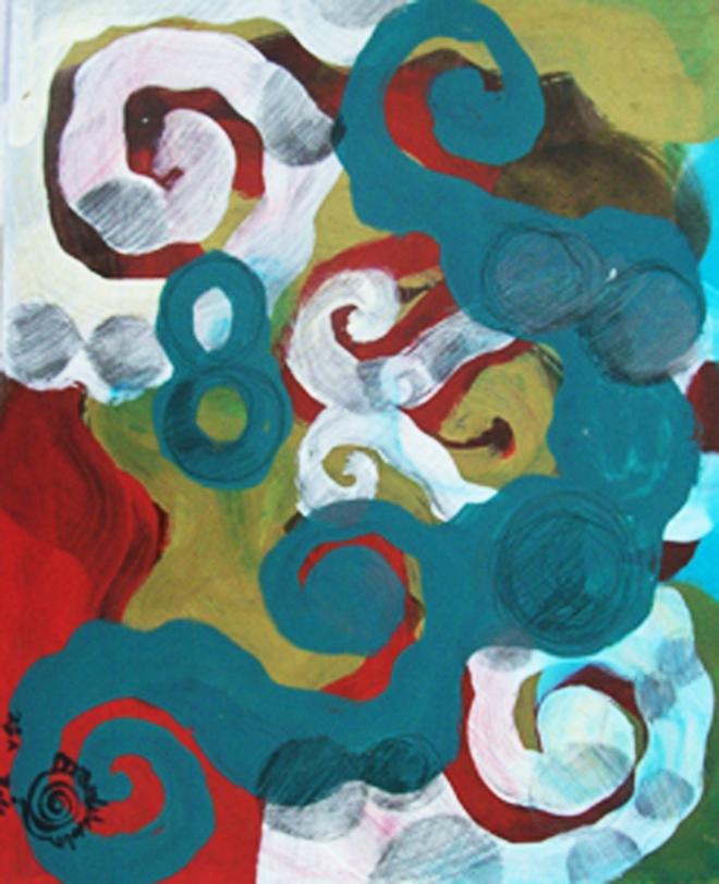 SÉRIE Arabescos – Tecendo o poema do encontro 2010 | Ddaniela Aguilar