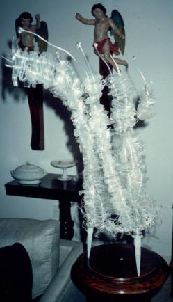 Objeto (2000) | Upcycling. PET pós-consumo | | Ddaniela Aguilar