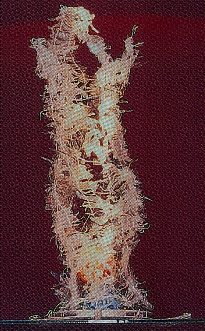 objetos luminosos (2004) | Upcycling | Ddaniela Aguilar