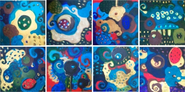 Espejo Turquesa, versões I, II e III. | 2011 |Ddaniela Aguilar
